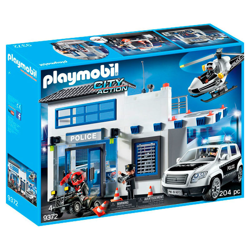 Mega Set de Policia Playmobil Sports & Action