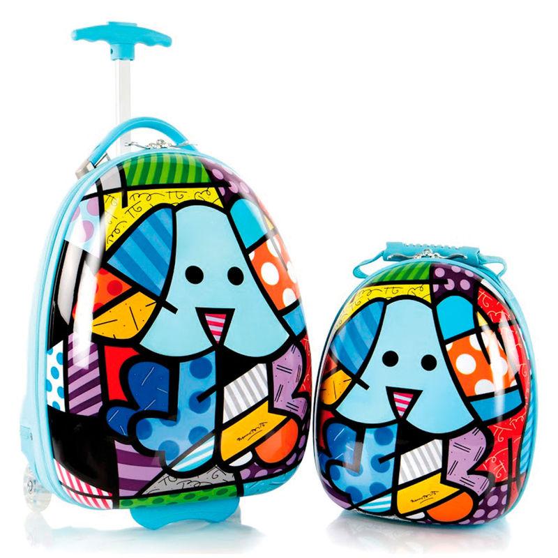 Set viaje Heys Kids Perro ABS