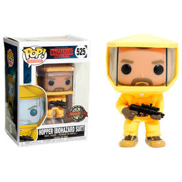 Figura POP Stranger Things Hopper in Bio Hazard Suit Exclusive