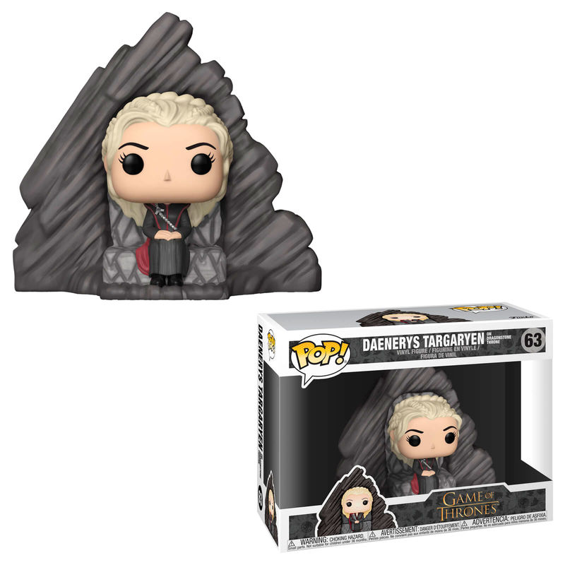 Figura POP Game of Thrones Daenerys on Dragonstone Throne (1)