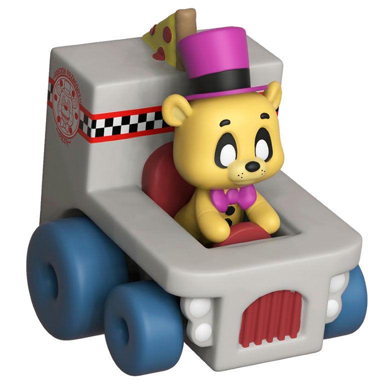 Figura Super Racers Five Nights at Freddy's Golden Freddy