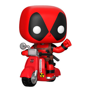 Figura POP Marvel Deadpool & Scooter (1)