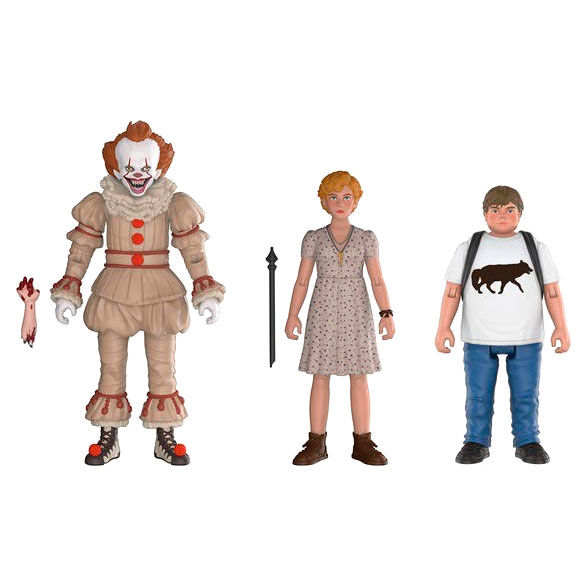 Set figuras Action It 2017 Pennywise Ben Beverly