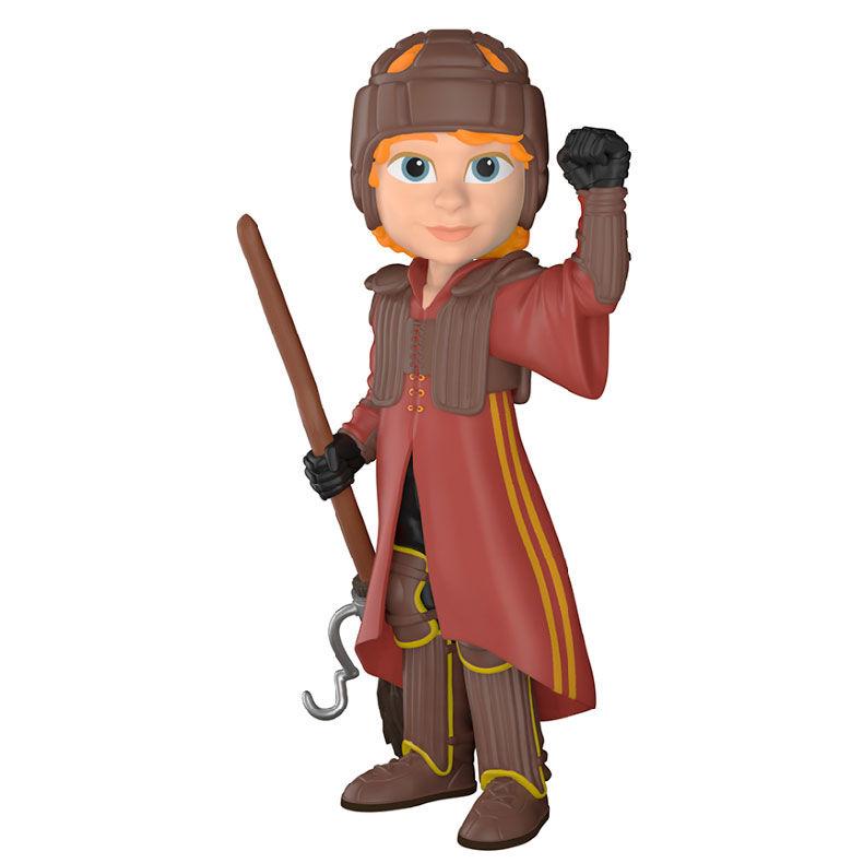 Figura Vinyl Rock Candy Harry Potter Ron in Quidditch Uniform