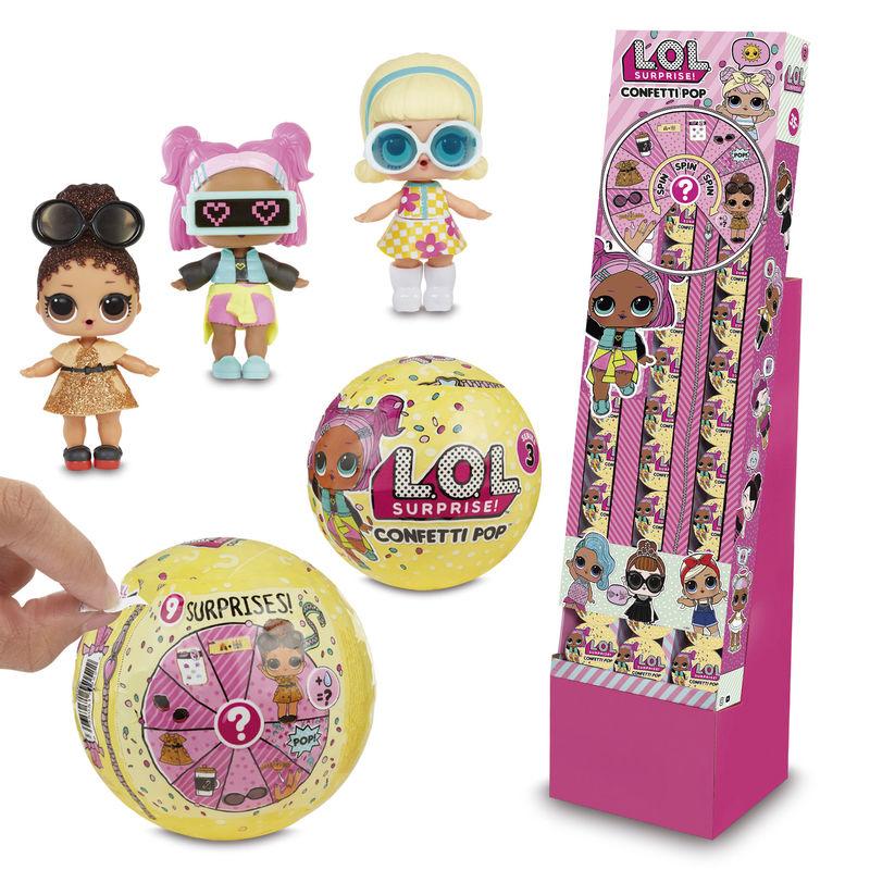 Distributore Importatore Lol Surprise Lol Series Confetti Da Negozio