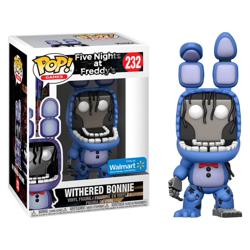 Pop Figure Five Nights At Freddy S Withered Bonnie Exclusive