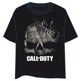Camiseta Call of Duty calavera adulto