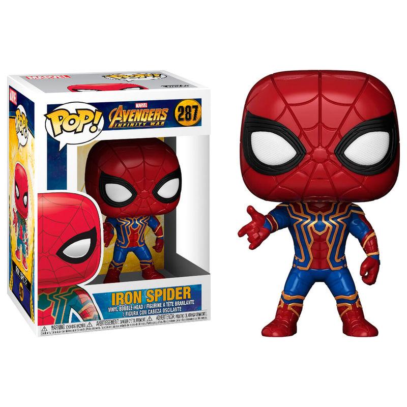 Figura POP Marvel Avengers Infinity War Iron Spider 889698264655