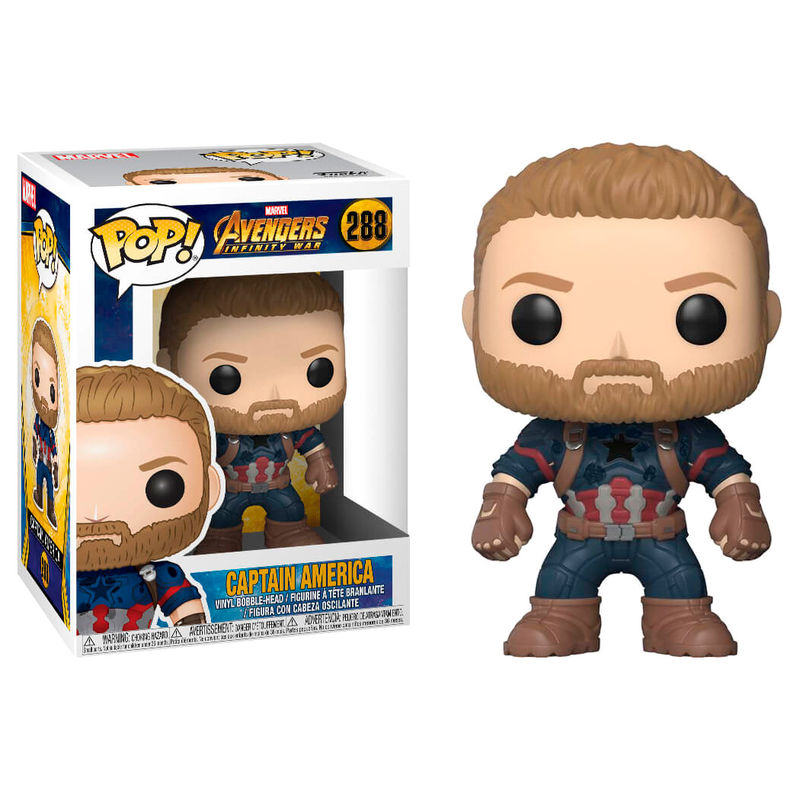 Pop Figure Marvel Avengers Infinity War Pop 4