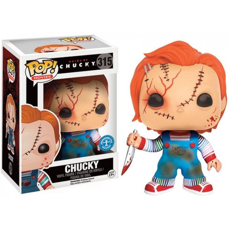 Chucky VINYL Brand New In Box POP Movies Funko