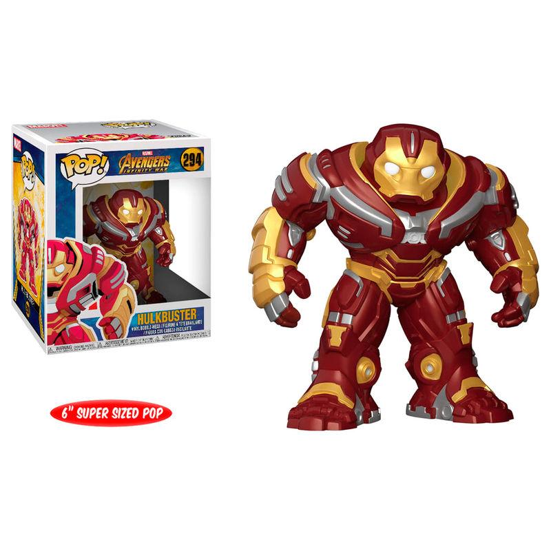 Figura POP Marvel Avengers Infinity War Hulkbuster 15cm
