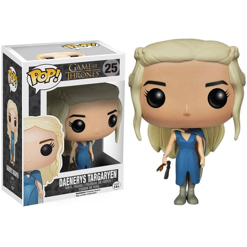 Figura POP Game of Thrones Mhysa Daenerys Vestido Azul