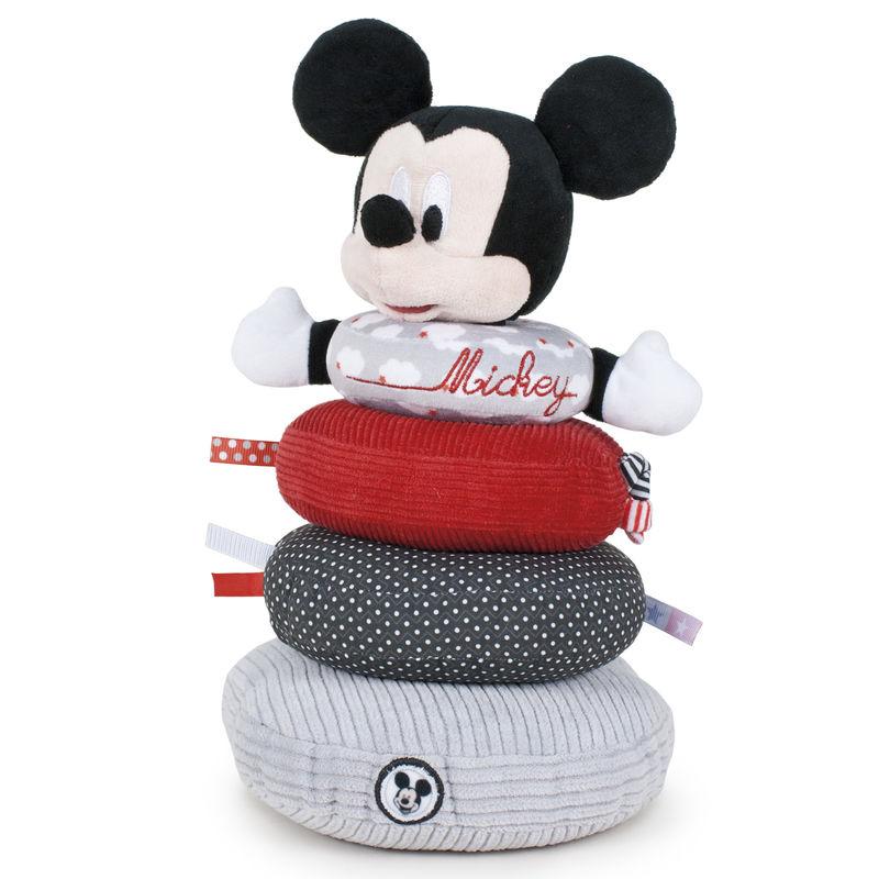 Anillos apilamiento peluche Mickey Disney Baby soft 8410779466433