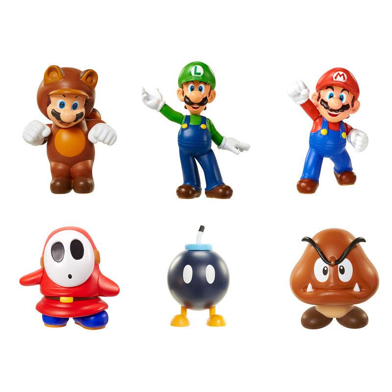 Nintendo Mario Bross assorted figure 6cm