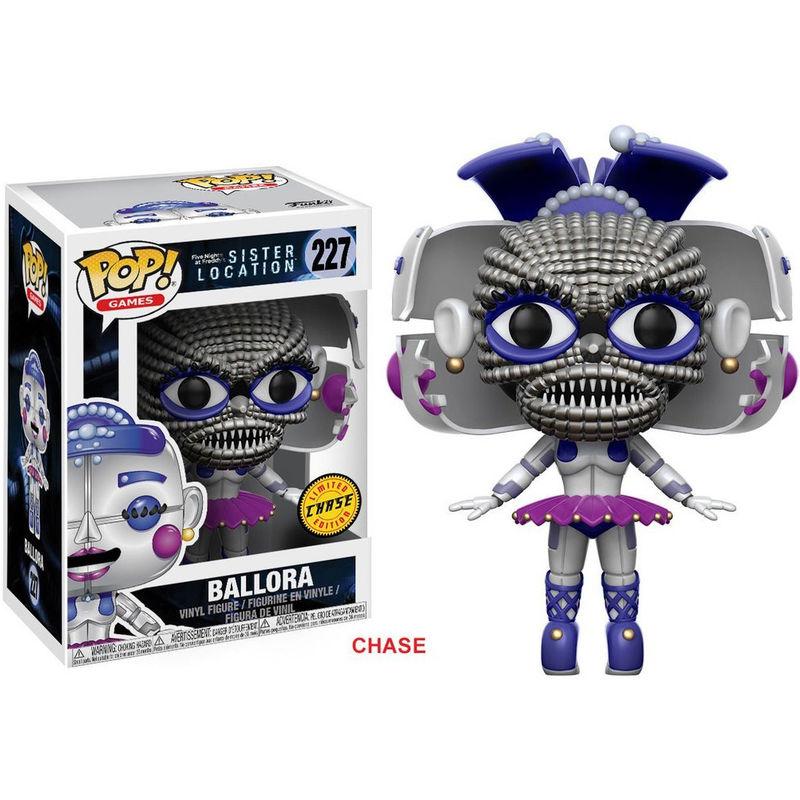 Figura POP Five Nights at Freddy's Sister Location Ballora Chase