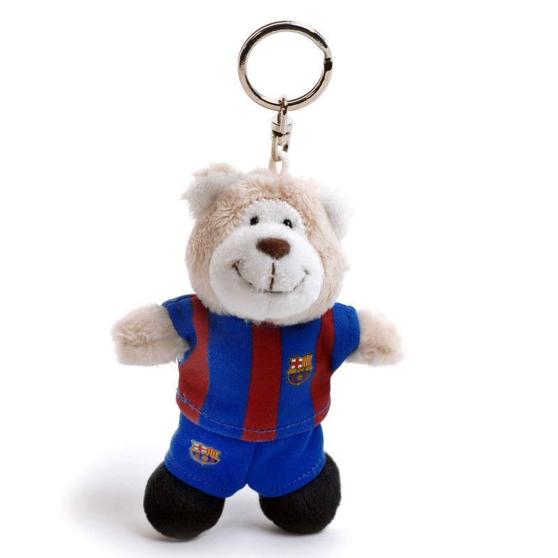 Peluche llavero Oso FC Barcelona Nici 10cm 4012390404104