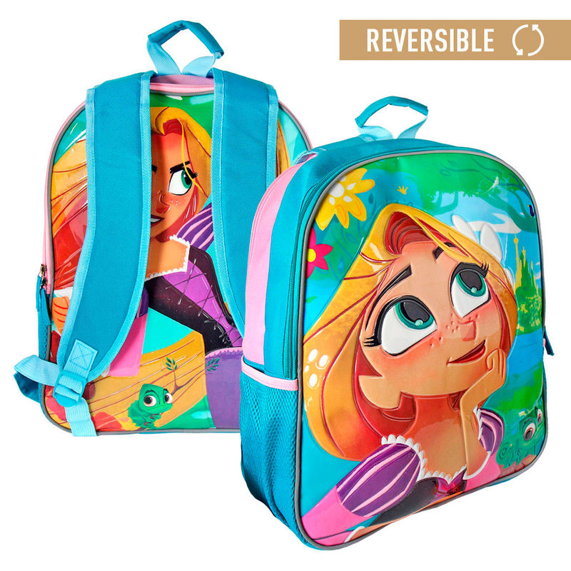 0fa5693e0ef Disney Tangled reversible backpack 41cm