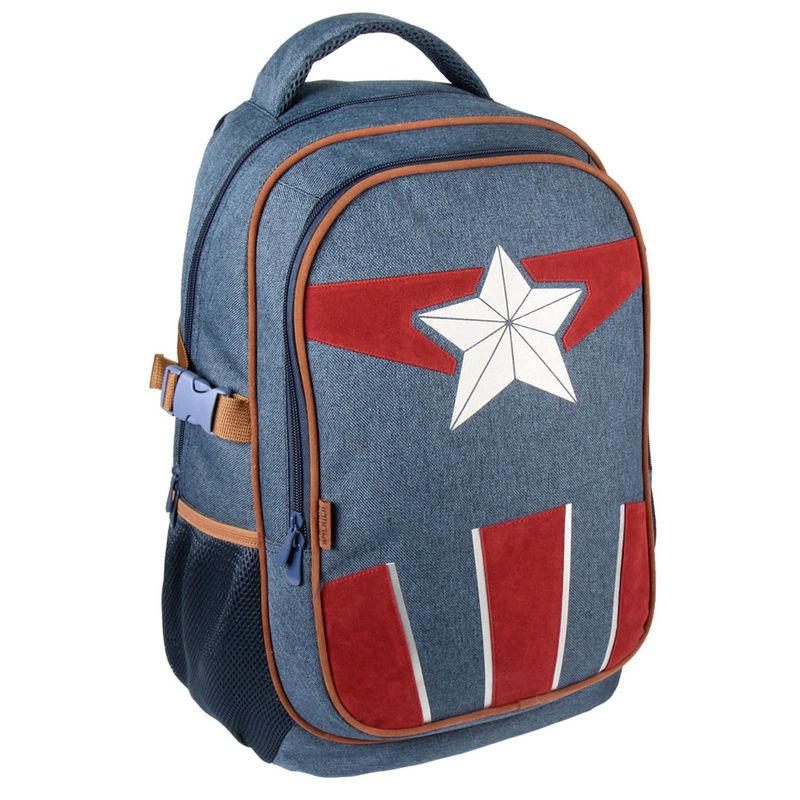 Mochila viaje Capitan America Vengadores Avengers Marvel 47cm