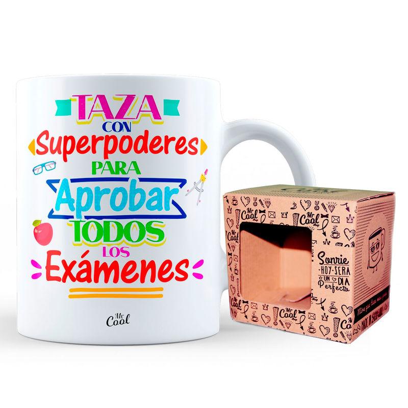 Taza Con Superpoderes Para Aprobar Todos Los Examenes 8436571072177