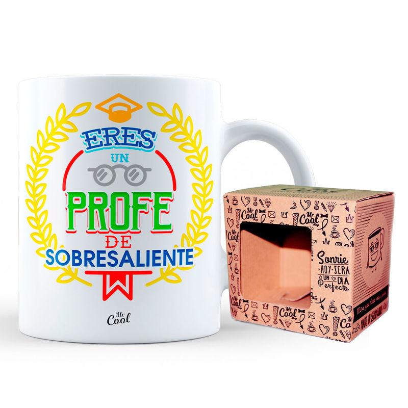 Taza Eres Un Profe De Sobresaliente 8436571072207