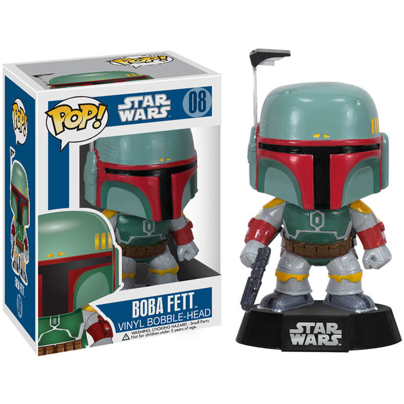 PRE-PEDIDO Funko POP o Figura POP Star Wars Boba Fett