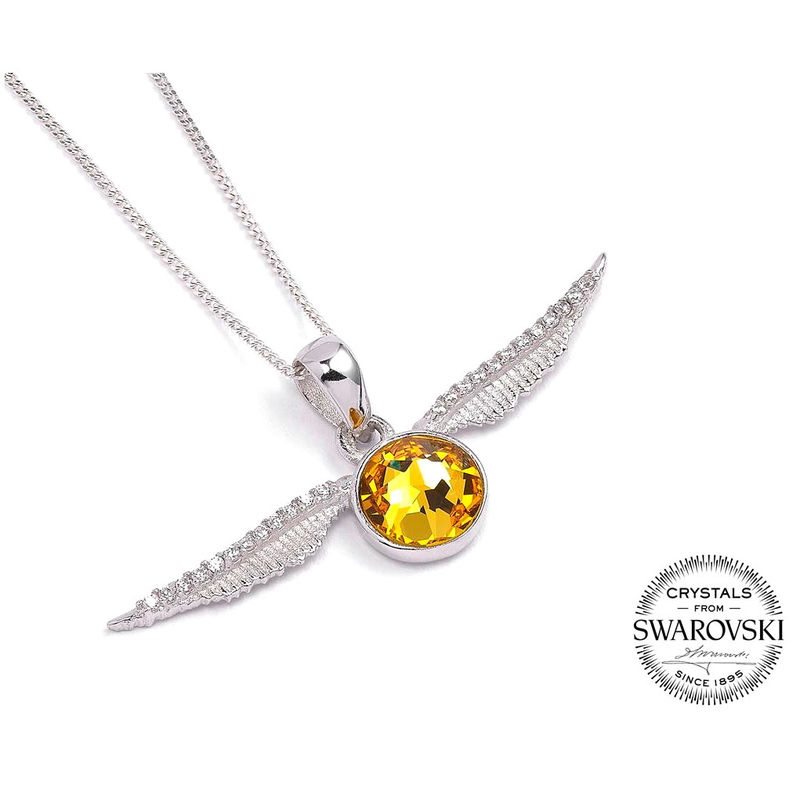 Colgante Swarovski Snitch Dorada Harry Potter