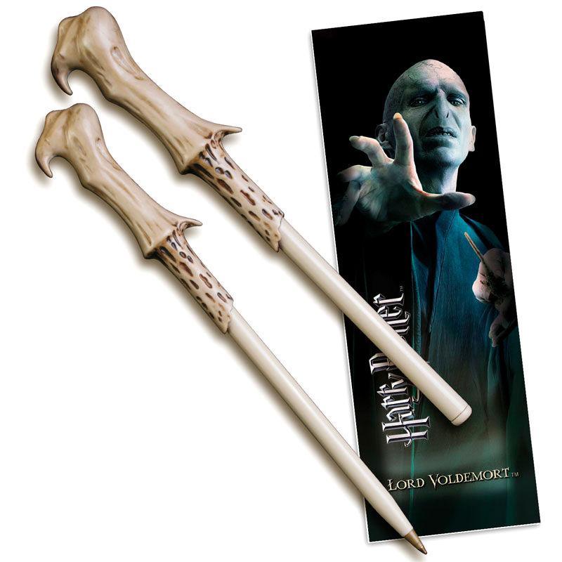 Varita boligrafo y marcapaginas Voldemort Harry Potter 812370014019