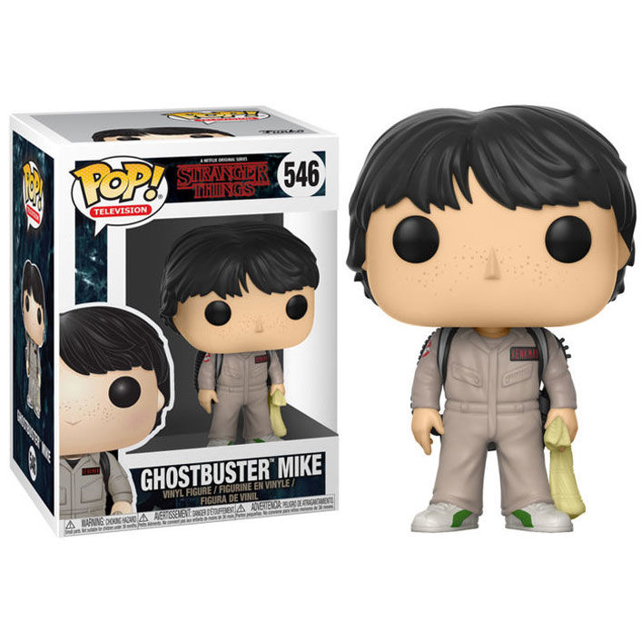 Funko POP o Figura POP Stranger Things Mike Cazafantasmas