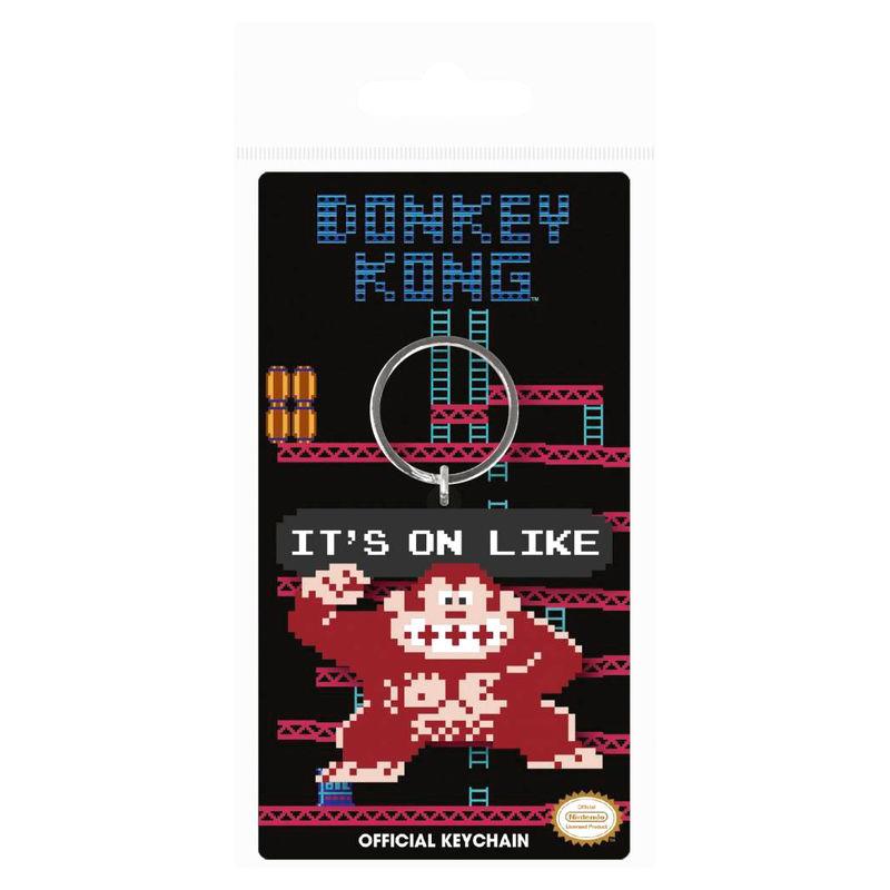 Llavero Donkey Kong It s On Like Nintendo 5050293387055