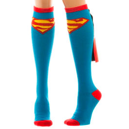 Calcetines altos Superman DC Comics