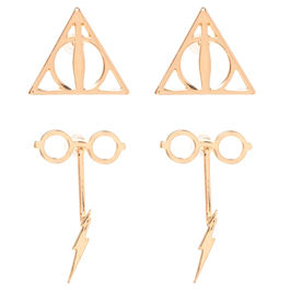 Set pendientes Harry Potter