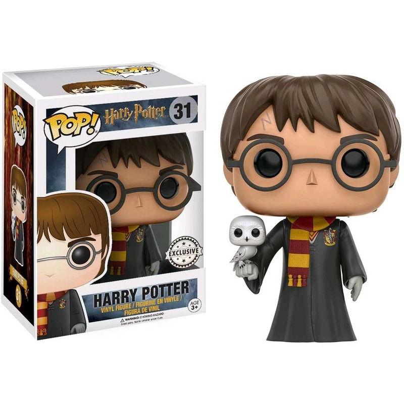 Funko POP o Figura POP Harry Potter Harry con Hedwig Exclusive