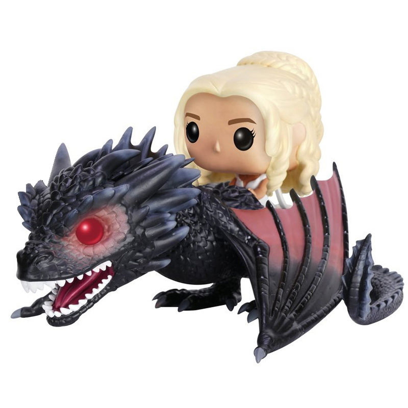 Figura POP Game of Thrones Daenerys & Drogon 18cm