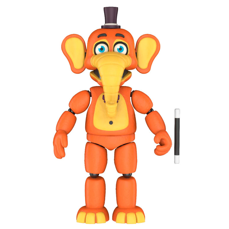 Figura action Five Nights al Freddys 6 Pizza Sim Orville Elephant