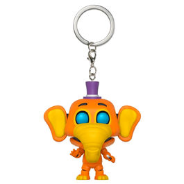 Llavero Pocket POP Five Nights al Freddys 6 Pizza Sim Orville Elephant