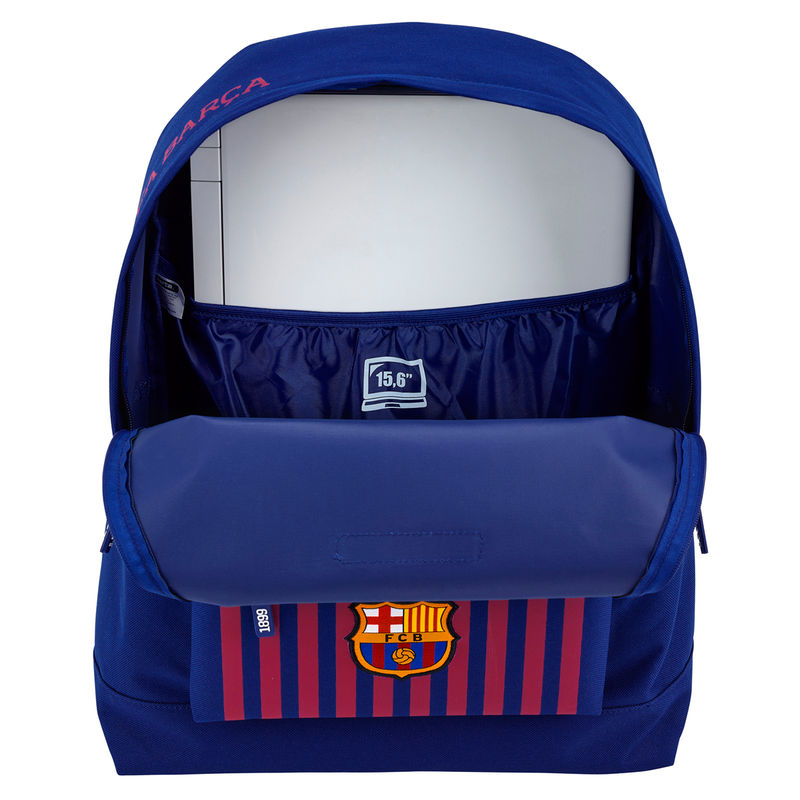 Mochila ordenador FC Barcelona 43cm