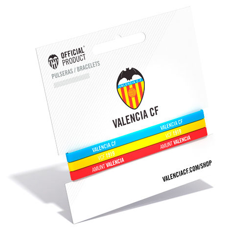 Pulsera classic Valencia CF tricolor 8699982422799