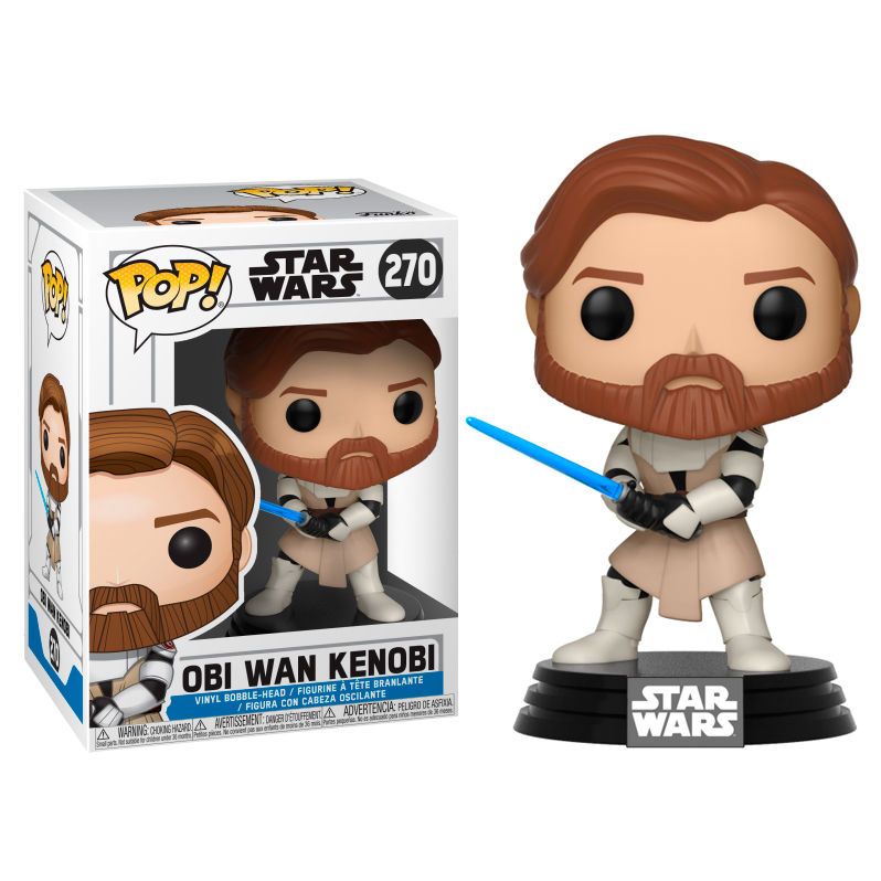 OBI WAN KENOBI, STAR WARS, POP FUNKO