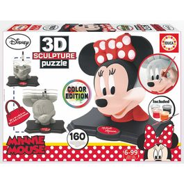 Puzzle 3D Minnie Disney Color Edition