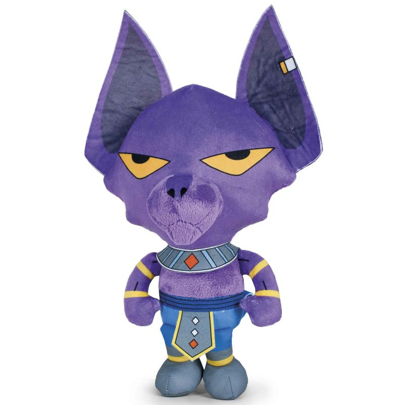 Peluche Beerus Dragon Ball Super 24cm