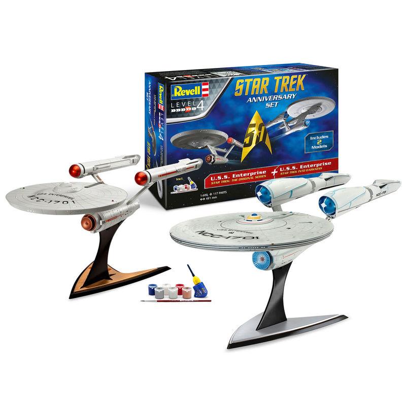 Maqueta Anniversary Set Star Trek (1)