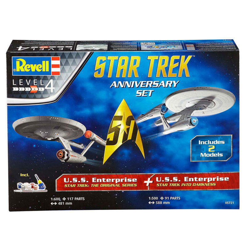 Maqueta Anniversary Set Star Trek