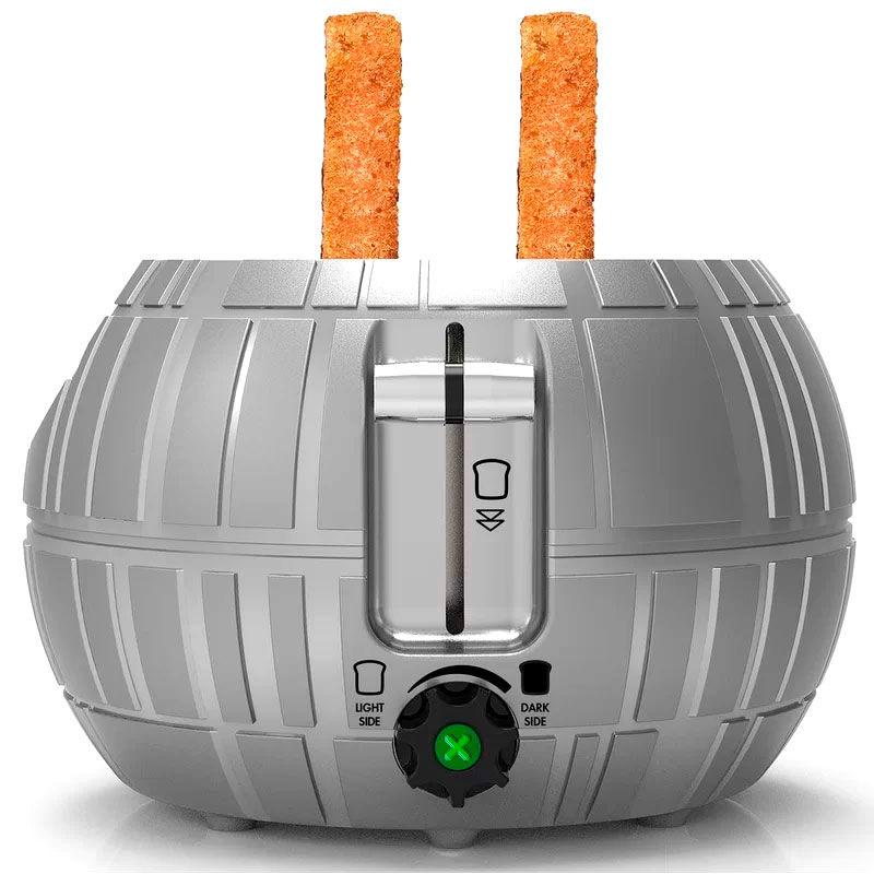 Tostadora Estrella de la Muerte Star Wars