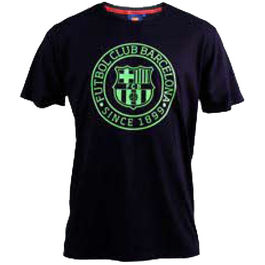 Camiseta F.C Barcelona marino junior