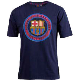 Camiseta estampada F.C Barcelona junior