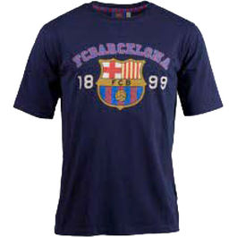 Camiseta estampada F.C Barcelona adulto