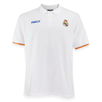 Polo Real Madrid blanco junior 8435498702082