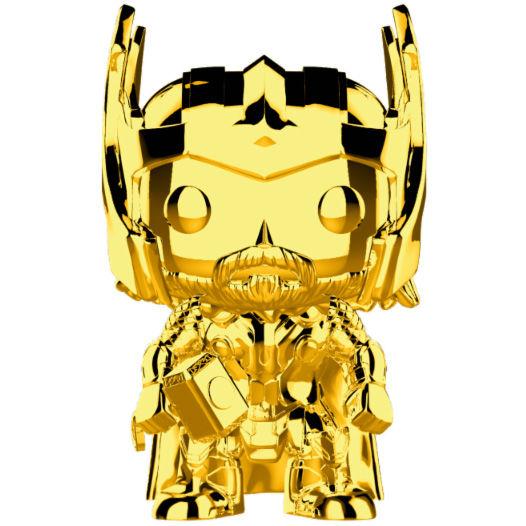 Funko POP o Figura POP Marvel Studios 10 Thor Gold Chrome