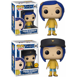 Figura POP Coraline Raincoat 5 + 1 Chase