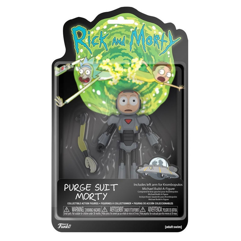 Figura Action Rick and Morty Morty Purge Suit